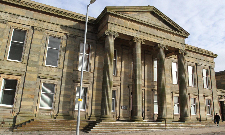 Hamilton Sheriff Court.