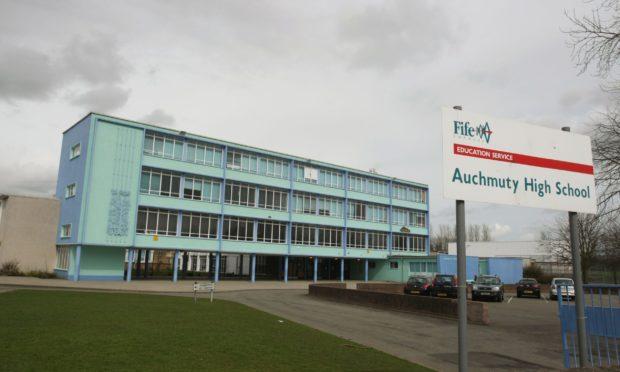 Auchmuty High School, Glenrothes.