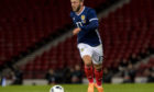 Johnny Russell won't feature for Scotland against Israel