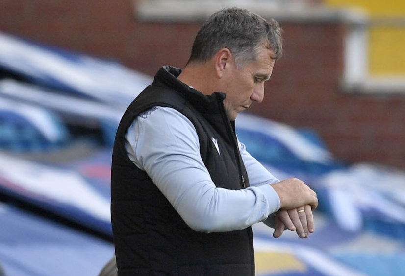 Micky Mellon's United have lost heavily to Kilmarnock and Rangers in recent weeks.