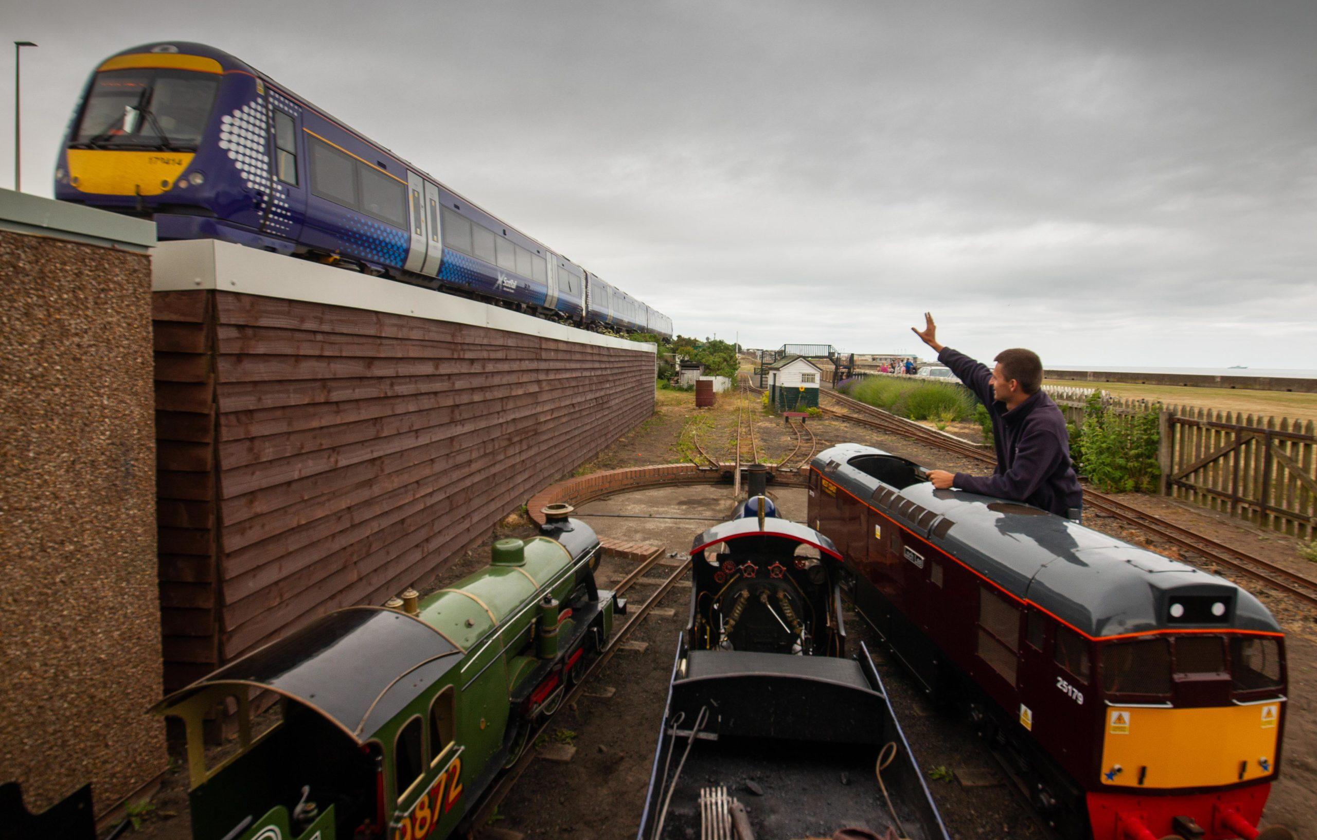 John Kerr has taken the agonising decision to close Scotland's oldest miniature railway.
