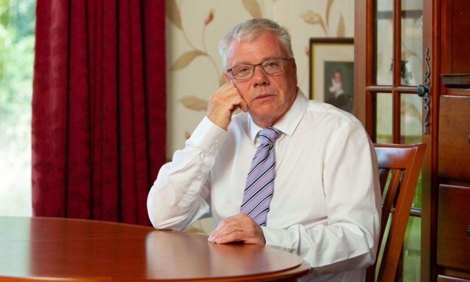 Mr Robert Funai, a retired depute head at Brechin High.
