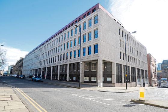 BT's Dundee base.