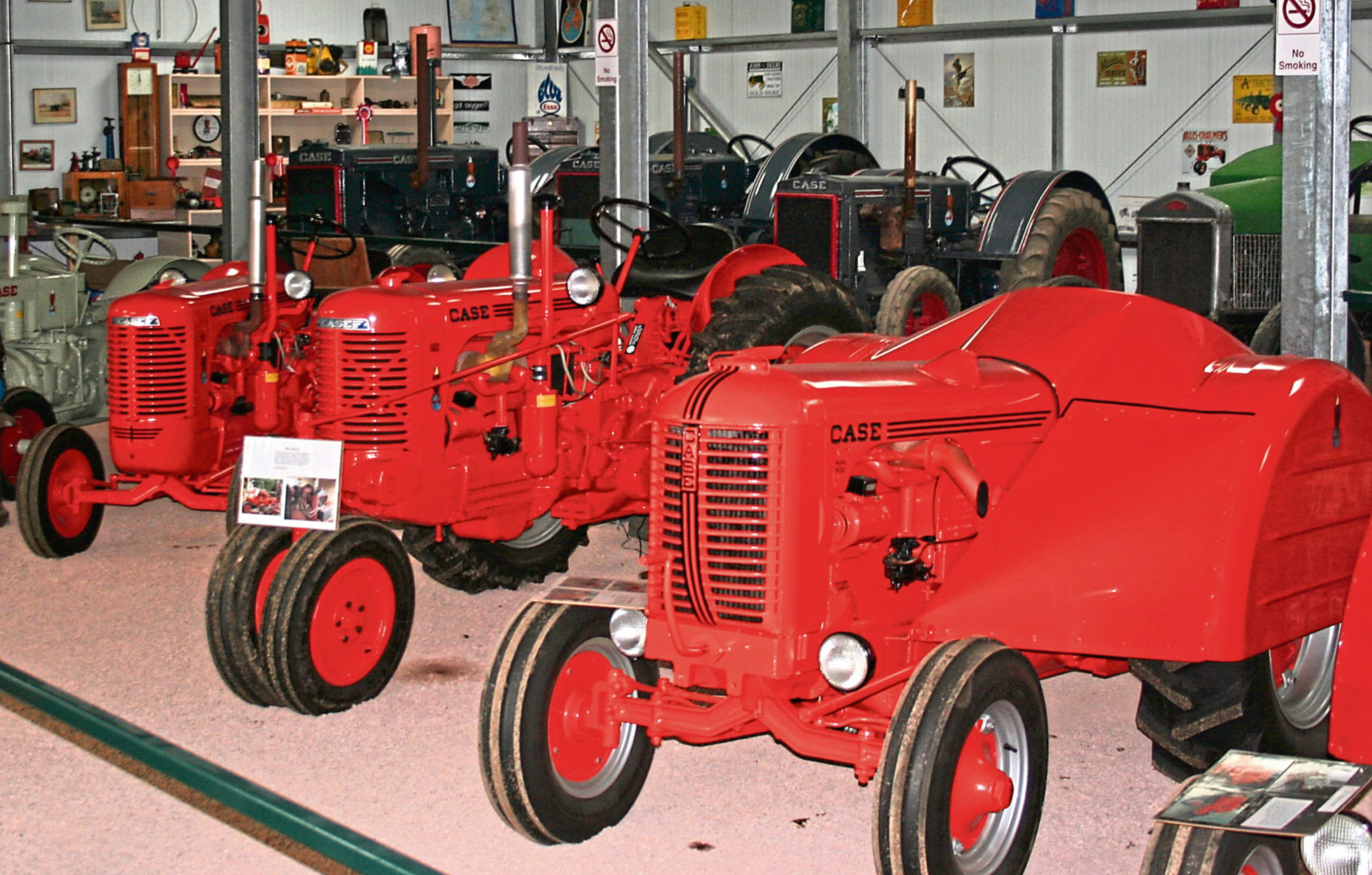 Case tractors will be among the prized items on offer