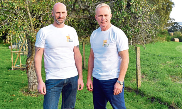 Mark Scott and Tony Ottley founded Bella and Duke in 2016.