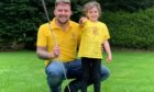 Jamie Smith and his daughter Kaiya.