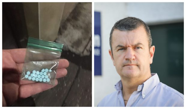 'Fake Valium' etizolam is the most common drug found in autopsies of overdose victims. Right, drug expert Dave Barrie