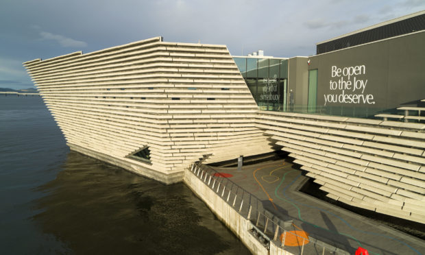 The V A Museum in Dundee.