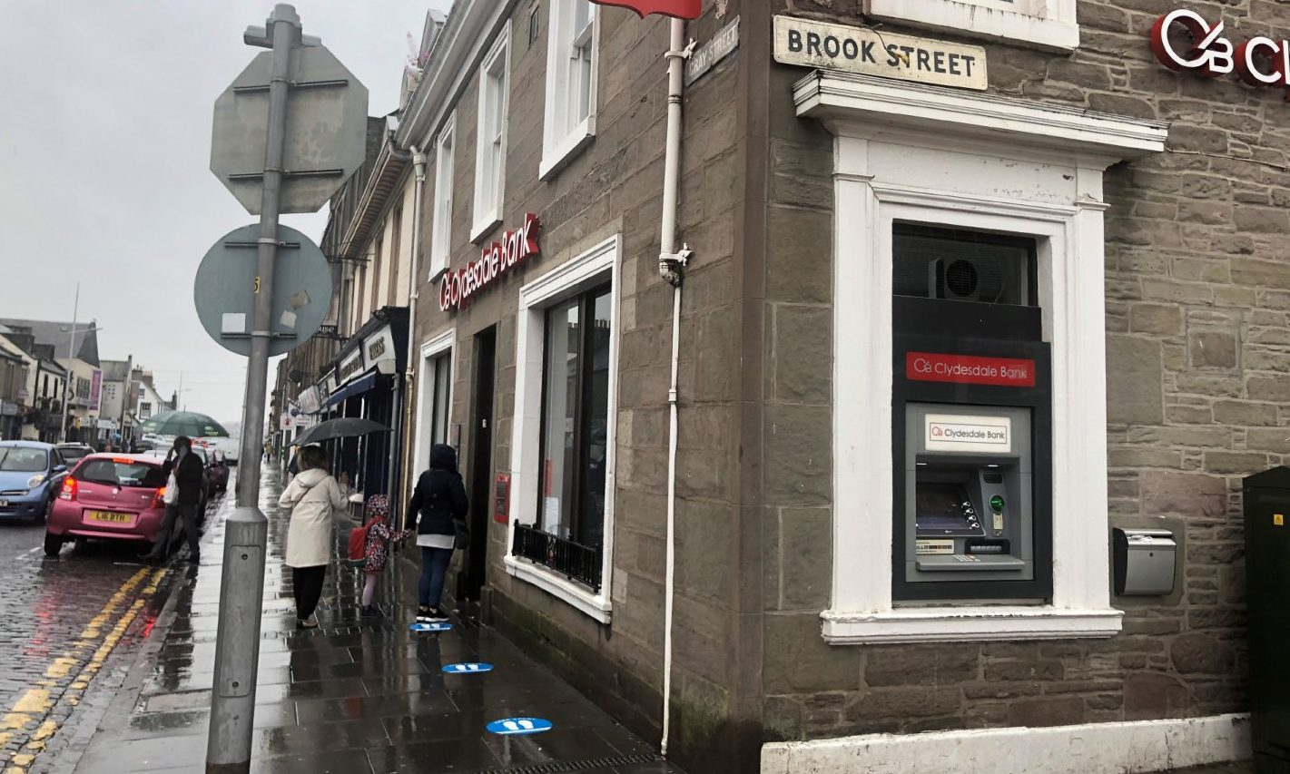 Clydesdale Bank, Broughty Ferry.