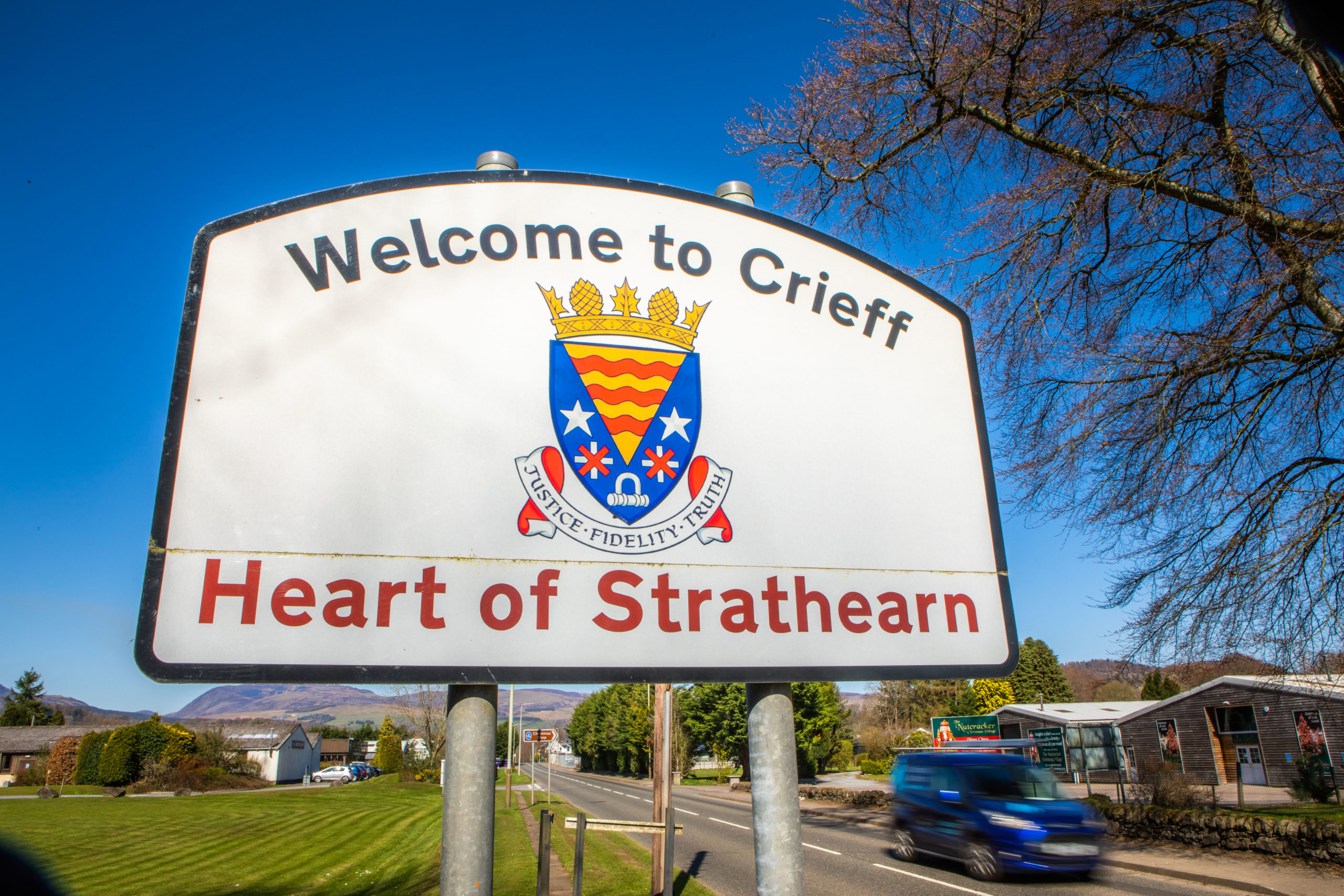 Concerns have been raised over anti-social behaviour in Crieff.