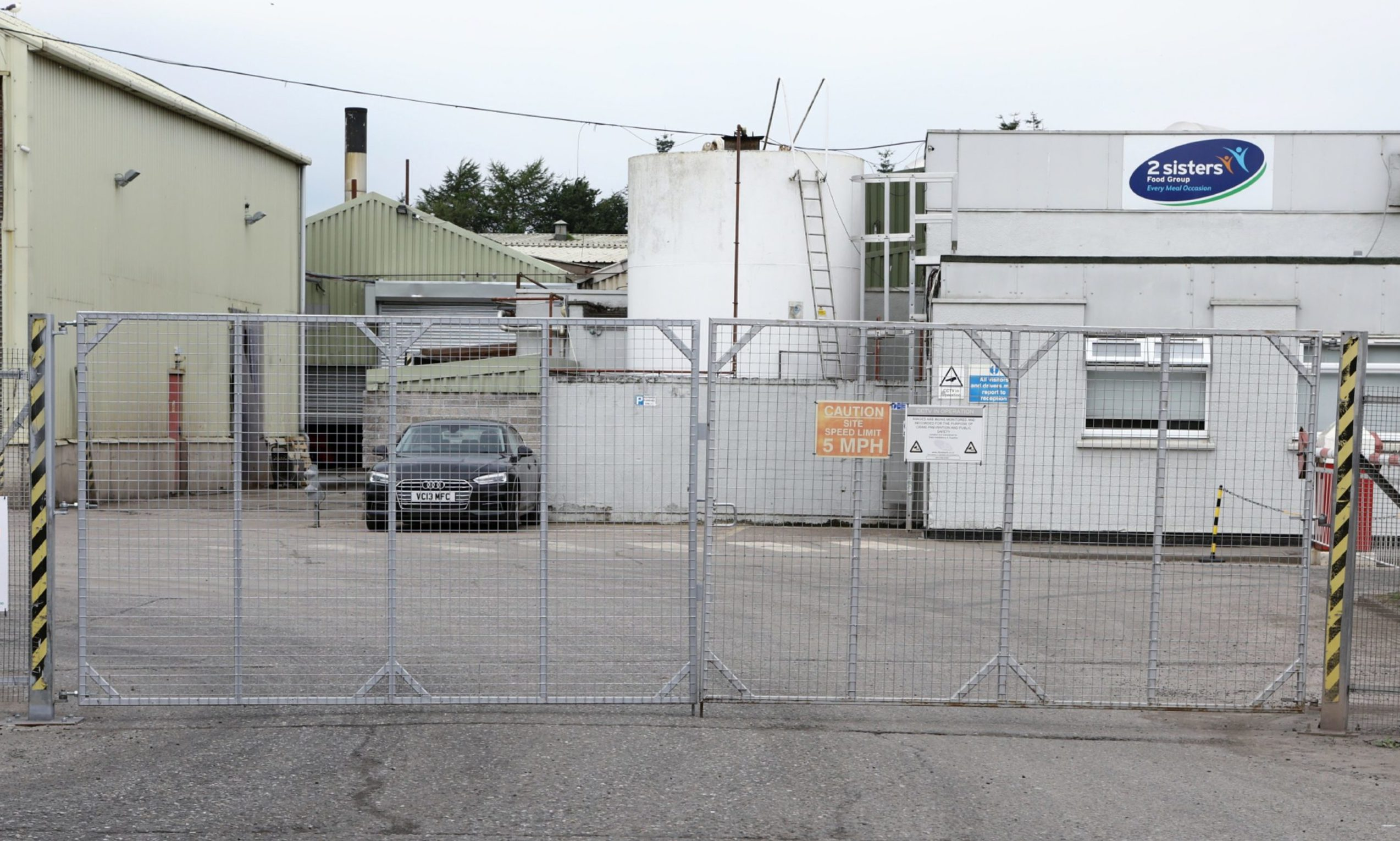 The 2 Sisters food plant in Coupar Angus.