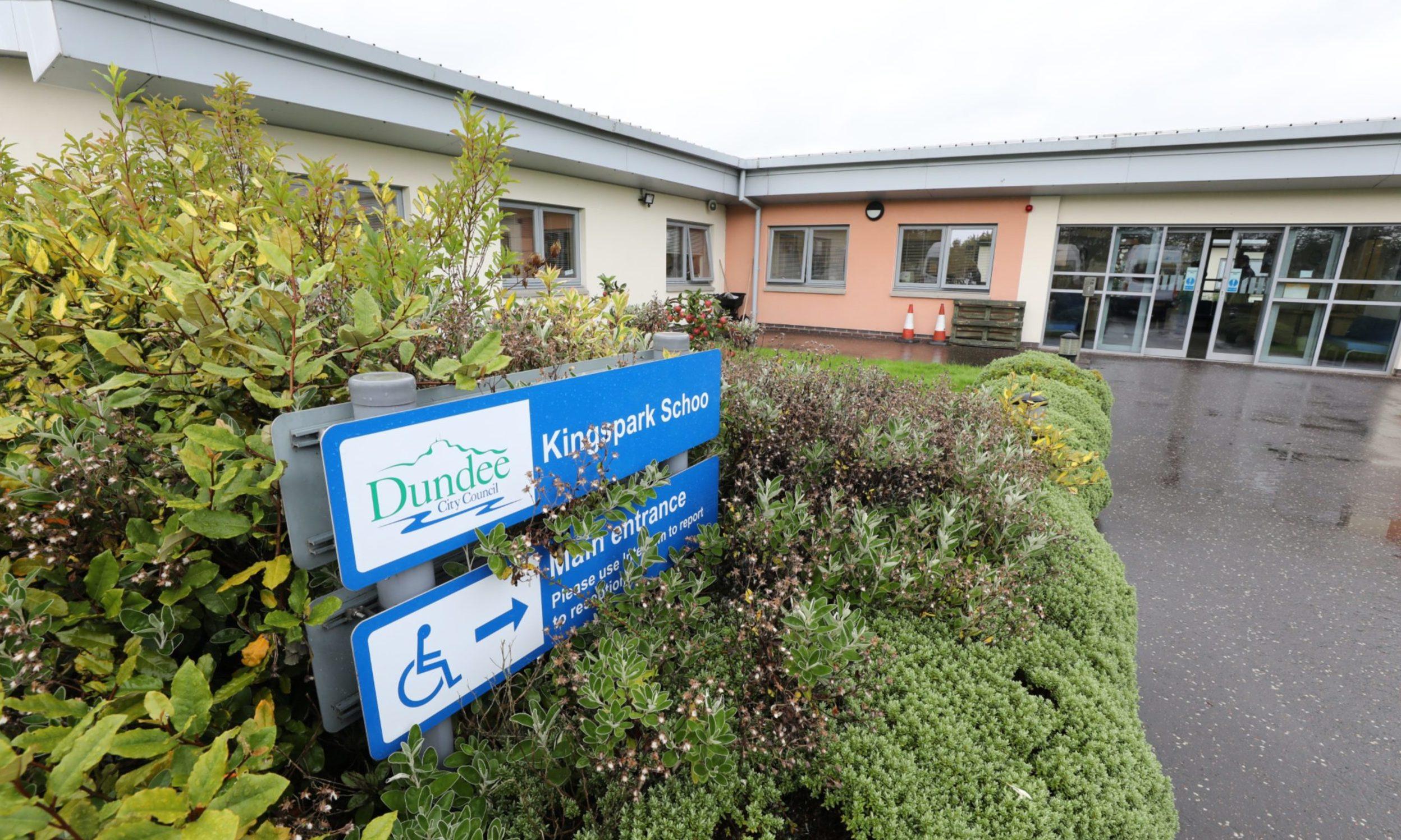 Kingspark School in Dundee.