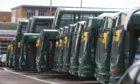 Some of Xplore Dundee fleet. Picture: Dougie Nicolson / DCT Media.