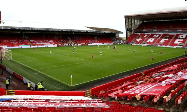 A group of Aberdeen players visited a bar after last week's loss to Rangers at Pittodrie.