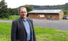 Cllr John Duff is looking forward to seeing toilets installed at Beyond Adventure.