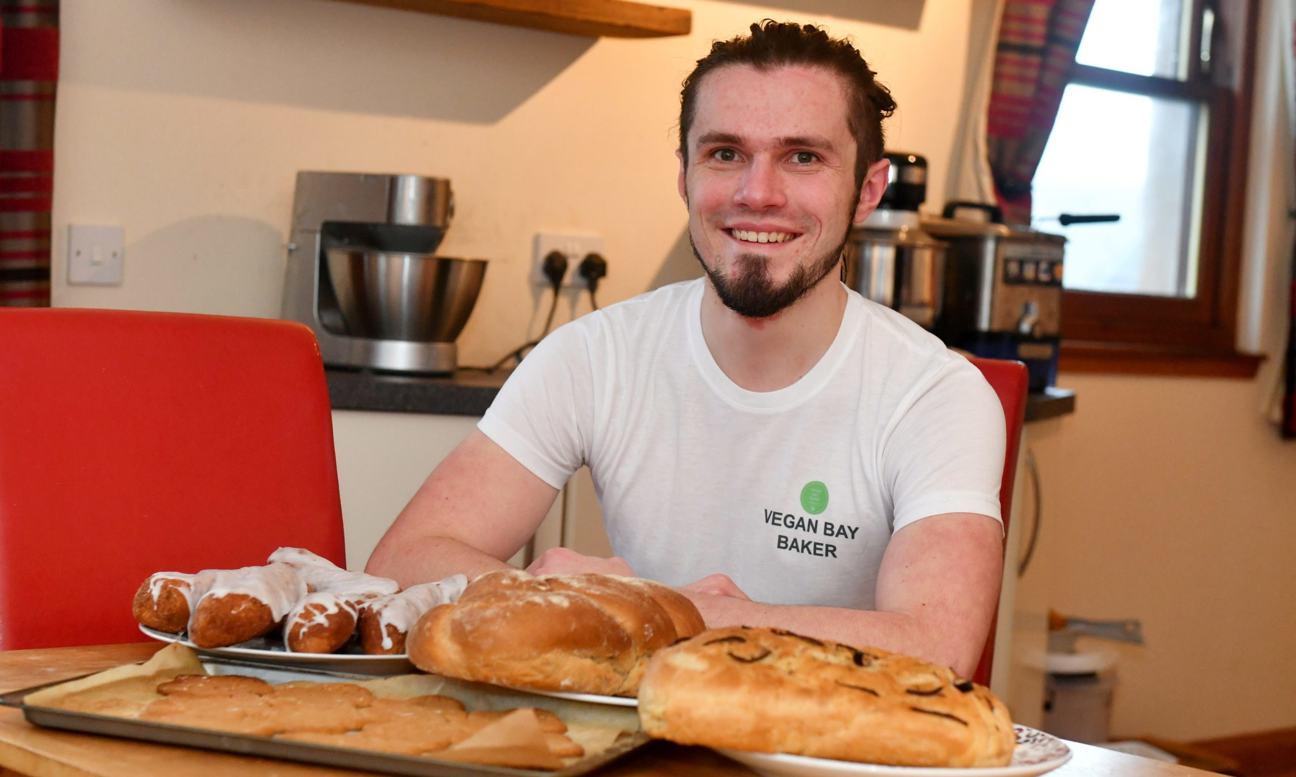 Steven Buchan,owner of Vegan Bay Baker.