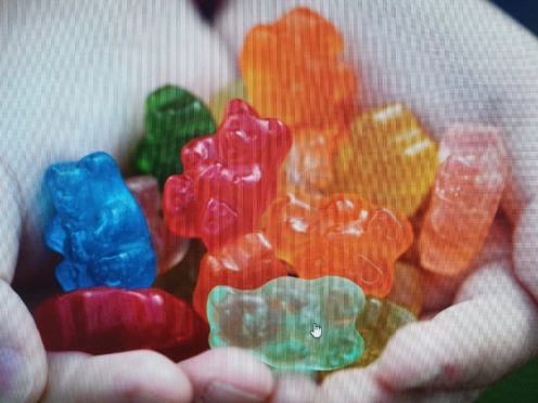 CBD gummies are allegedly being sold and passed around among local school kids.