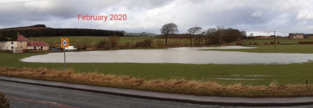 Objections to the development were raised concerning historic flooding of the site.