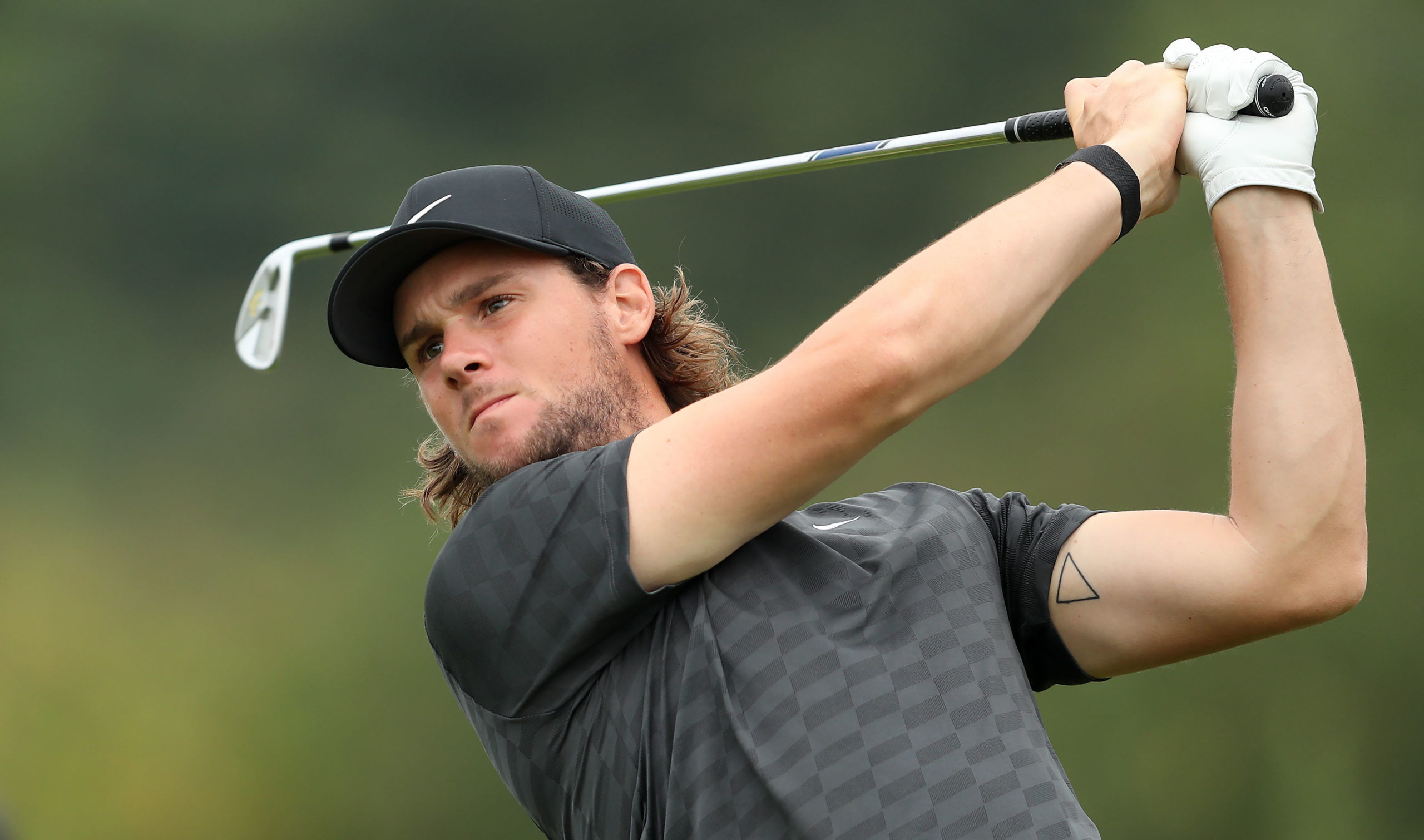 Belgium's Thomas Pieters leads after the first day at Celtic Manor.