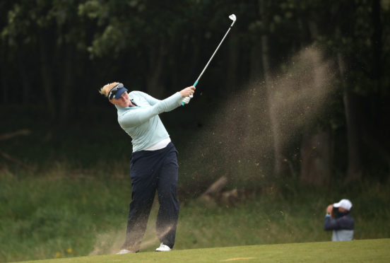 Scotland's Kylie Henry was the best UK finisher at the Ladies Scottish Open.