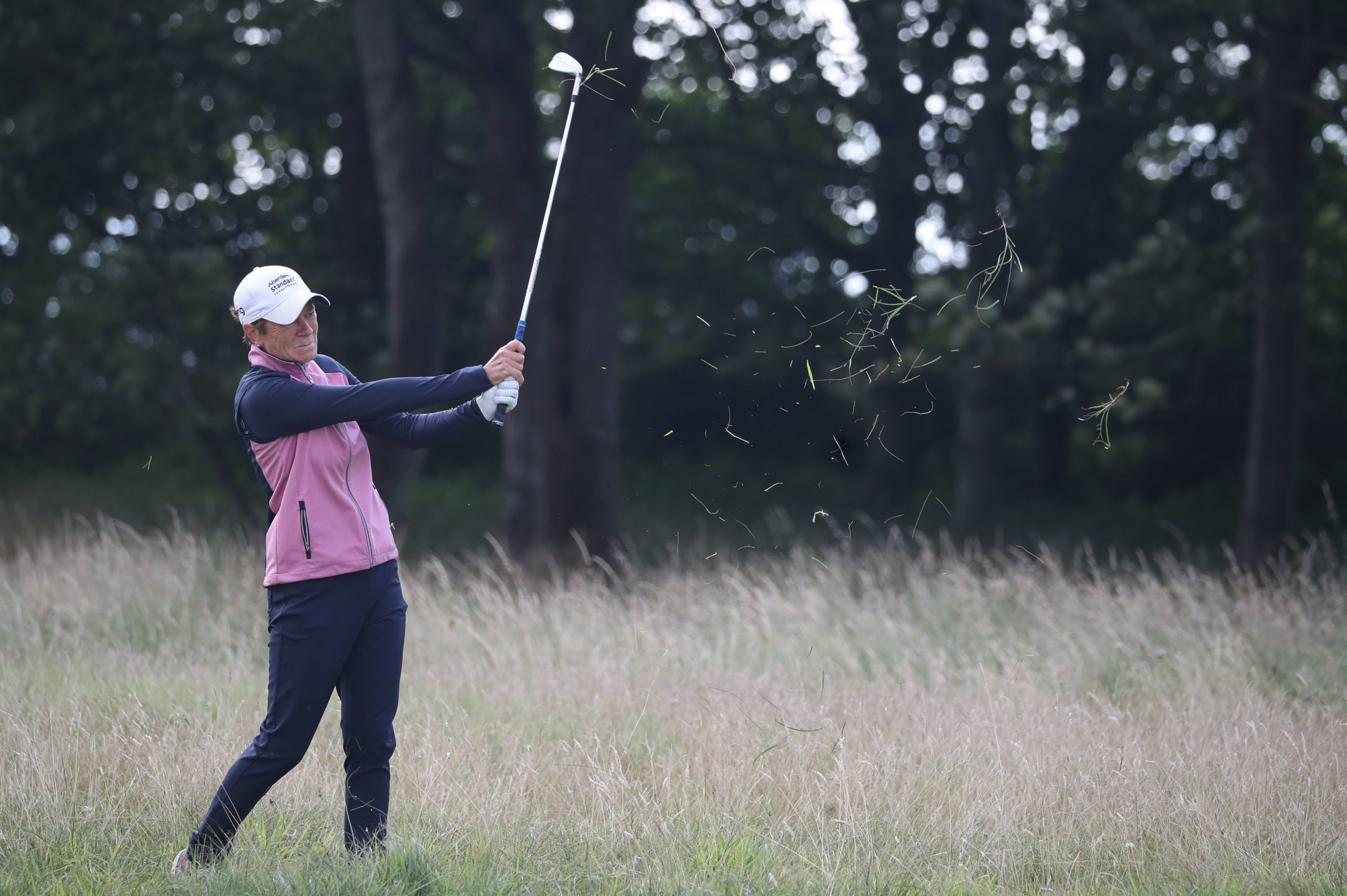 Catriona Matthew is well-placed after the first day at Royal Troon.