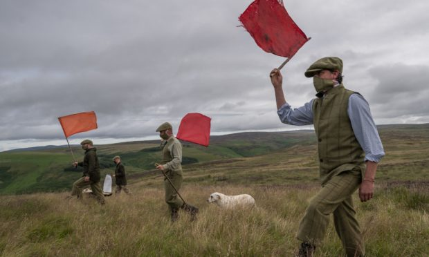 Preparations for grouse shooting season.