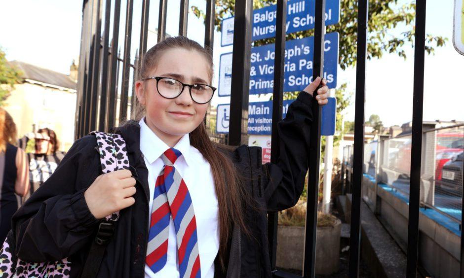 St Josephs Primary 6 pupil Freyja McGovern