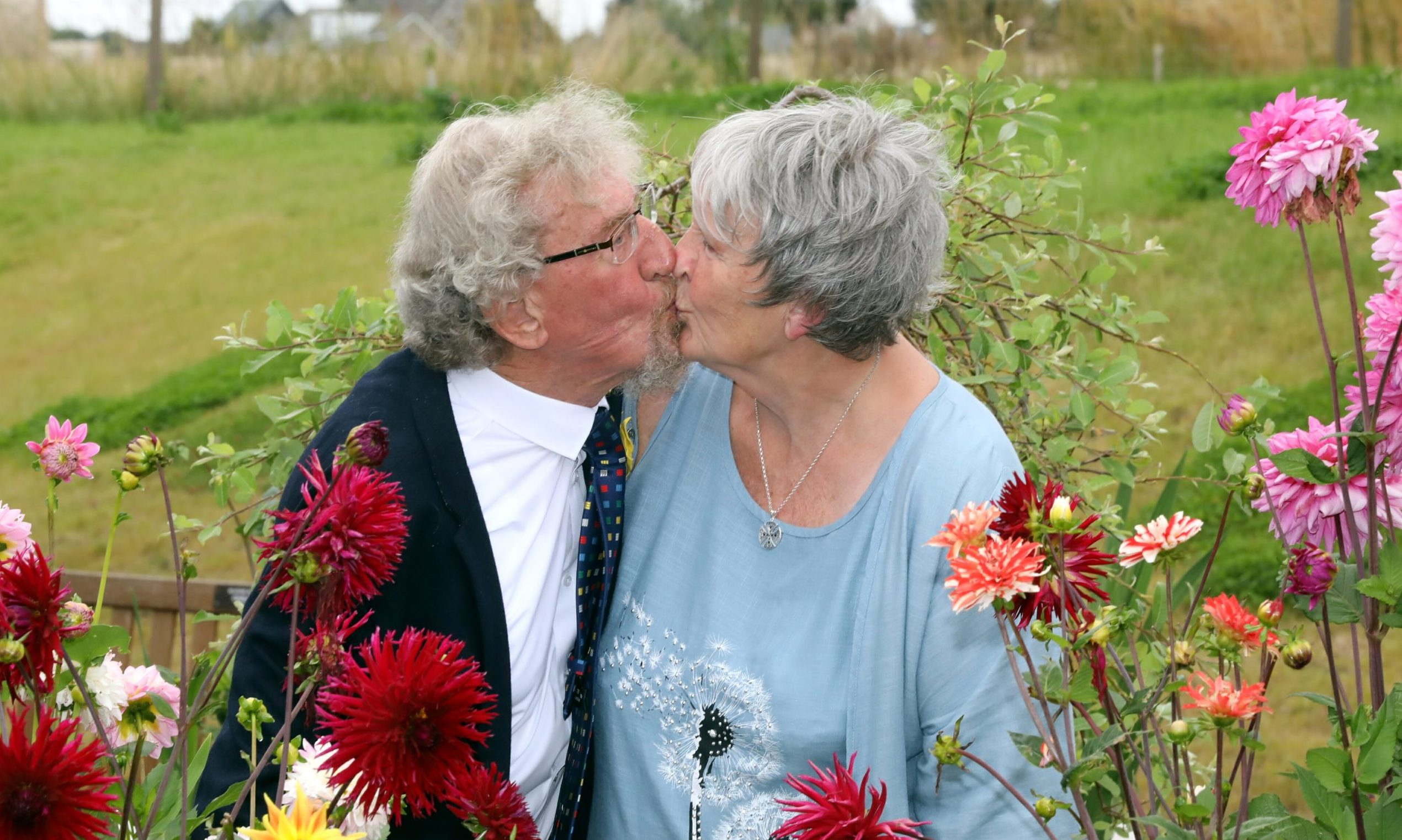 Jim Baleaves and Ann Marshall were married at the Madoch Centre in St Madoes.