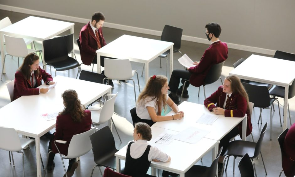 Back to school interviews at Harris Academy