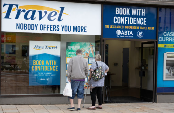 Hays Travel, High Street, Dundee.