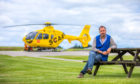 John Bullough, founding chairman of Scotland's Charity Air Ambulance based at Perth Airport