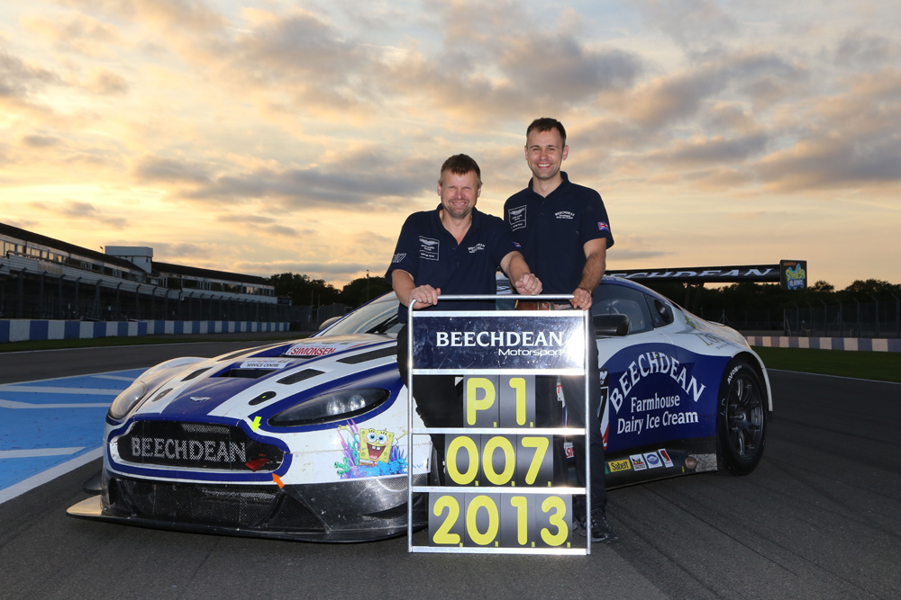 Andrew Howard and John Adam will reprise the partnership which reaped British GT success in 2013. Pic: British GT.