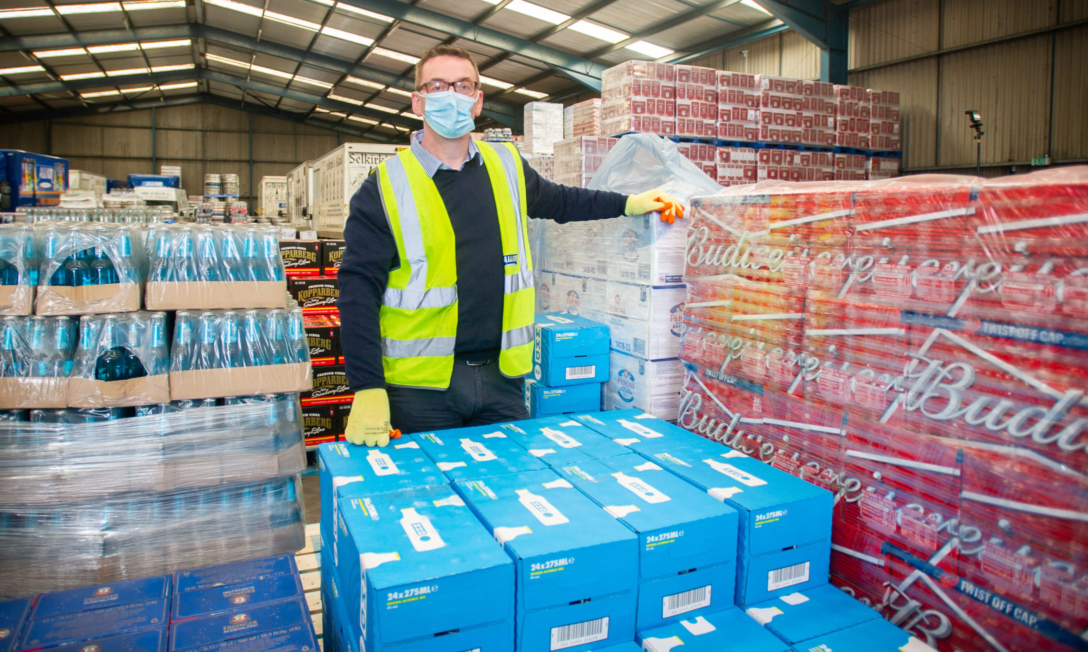 Colin Drysdale of Allson Wholesale