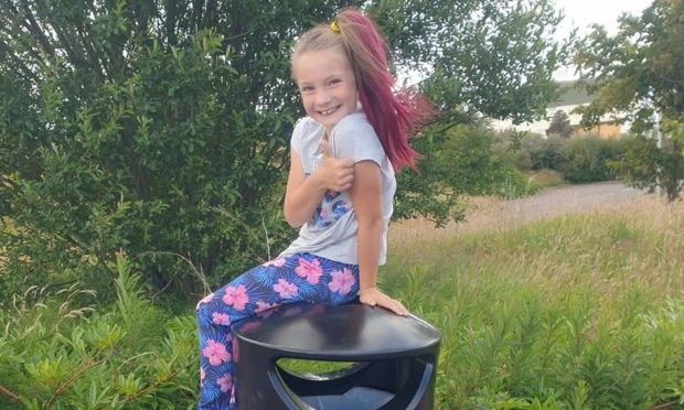 Lily Souter has been named as one of three lockdown litter heroes by Keep Scotland Beautiful.