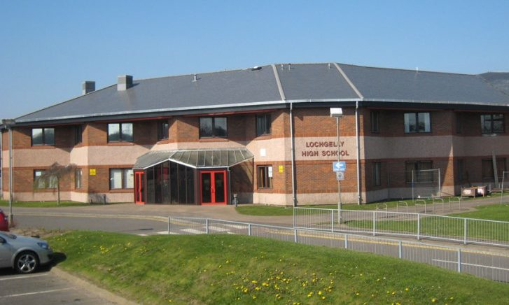 Lochgelly High School.