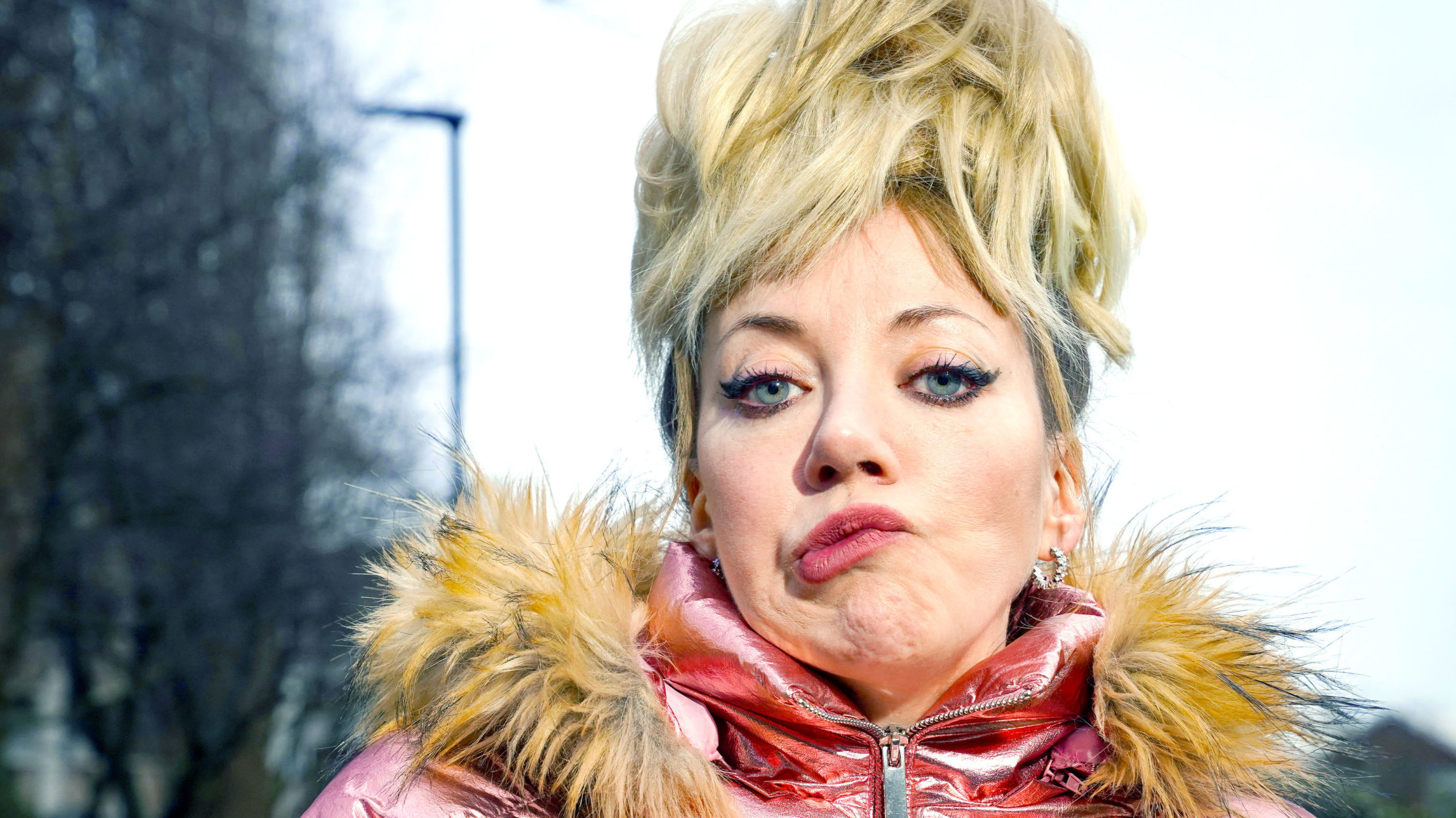 Diane Morgan in 'Mandy' (Copyright BBC)