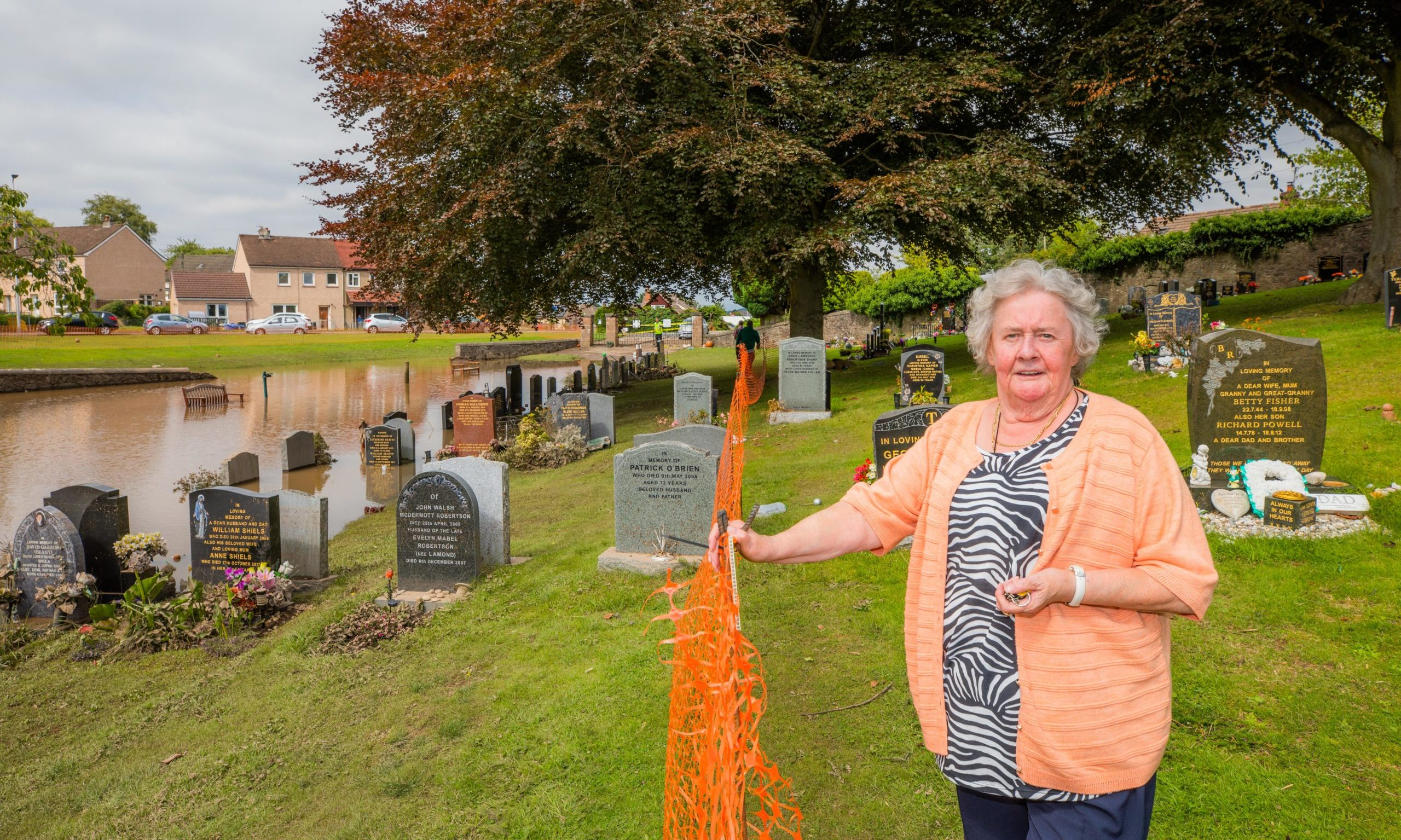 Mary Peoples at Jeanfield Cemetery