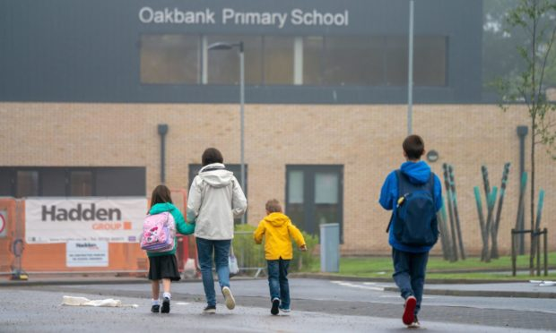 Oakbank School was one of the first affected in August