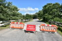 Oatyhill Bridge was closed by Aberdeenshire Council last month.