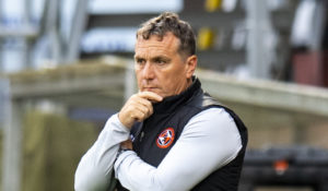 Dundee United manager Micky Mellon laughs off talk of there being a long-running feud between Tangerines and Rangers