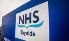 Courier News - Perth - unknown reporter Story. CR0000467 Updated stock pictures of NHS Tayside; Perth area. Picture shows Perth Royal Infirmary buildings and signs. Perth Royal Infirmary (Hospital), Perth. Friday 6th April 2018.