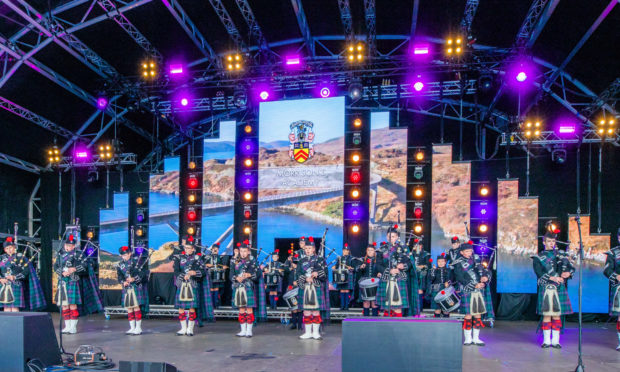 The opening ceremony of last year's Solheim Cup was staged by Catalyst.