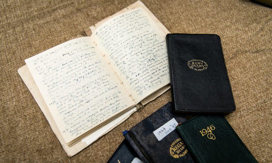Personal diaries of Captain Jack Ennis tell the incredible story of his time in Singapore where he married Elizabeth in 1942.