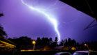 Lightning over Fife.