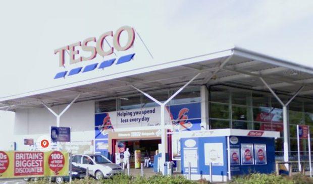 Tesco in Blairgowrie (stock image).