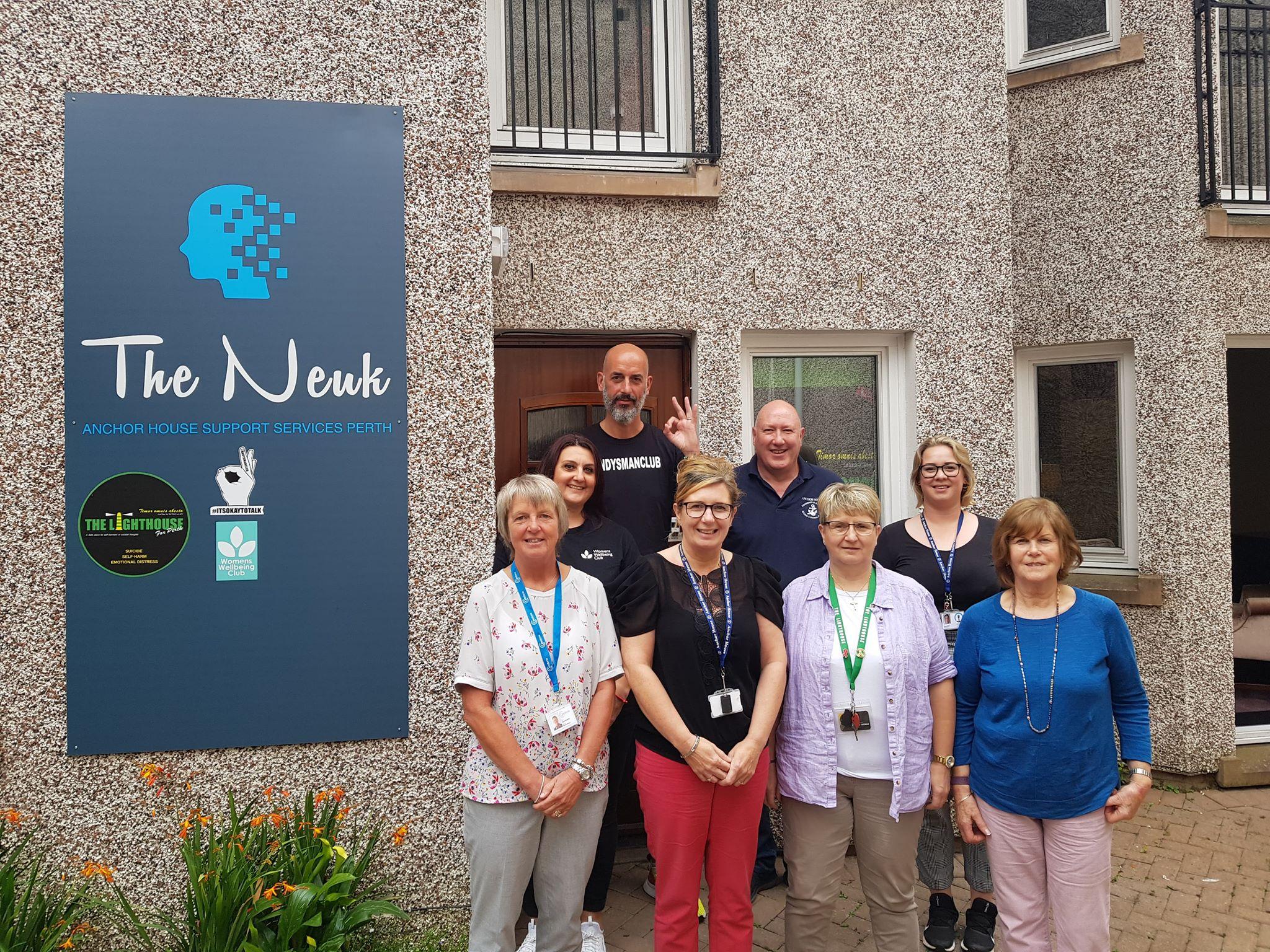 Representatives from organisations at The Neuk.