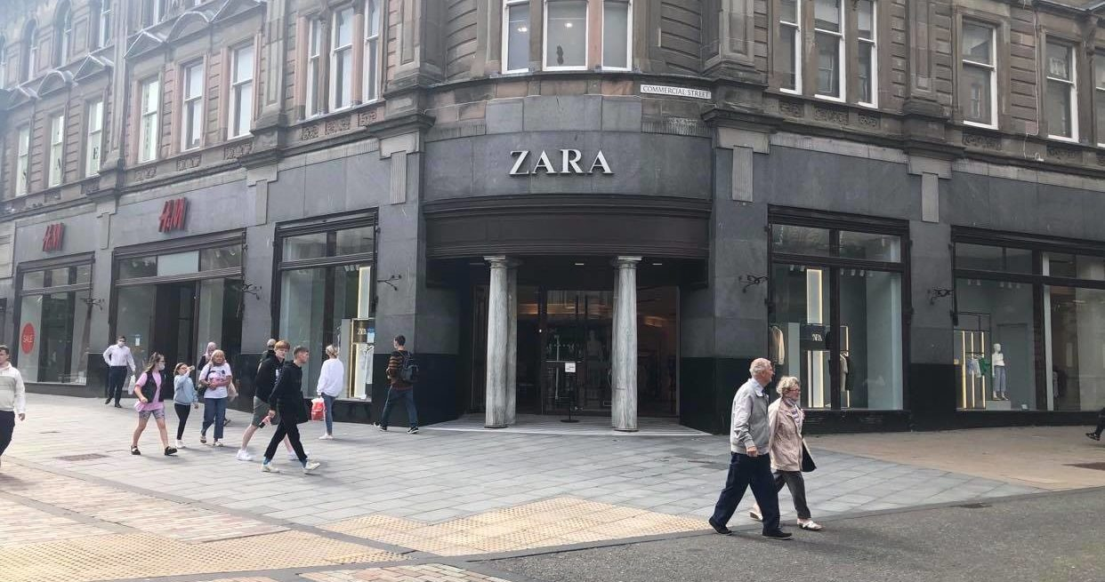 Zara in Dundee.