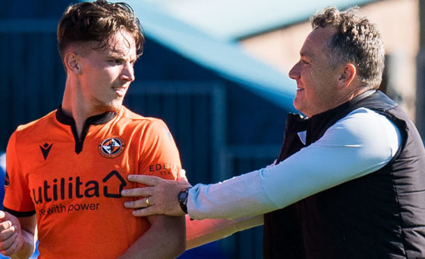 Logan Chalmers with Micky Mellon.