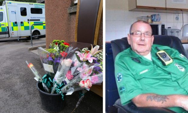 Tributes have been paid to paramedic Robert Devine, pictured.