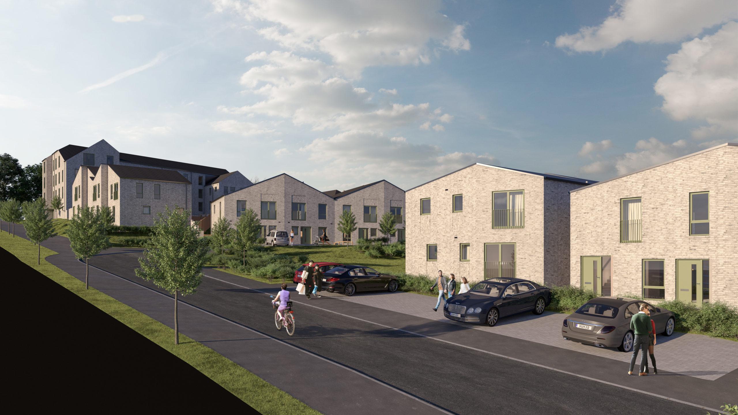 Plans for Hillcrest's  housing development at Ellengowan Drive in Dundee.
